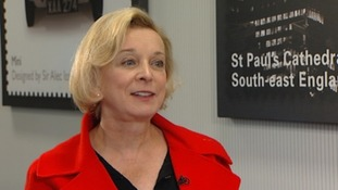 Chief Executive of Royal Mail Moya Greene.