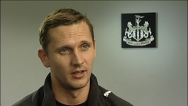 Newcastle United star Peter Lovenkrands on the way Alzheimers affected his family