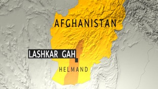 The soldier was killed in Kakaran, north east of Lashkar Gah.
