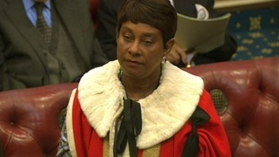 Baroness Lawrence of Clarendon in the House of Lords.