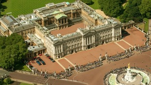 David Belmar will stay in custody until he is sentenced following the incident at Buckingham Palace