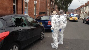 The whole of Grosvenor Road in Rotherham is being treated as a crime scene
