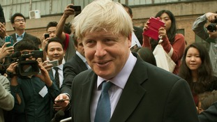 Mayor of London Boris Johnson is currently on a trade mission in China.