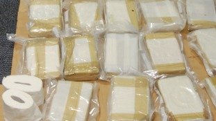 Large quantities of near pure cocaine were recovered