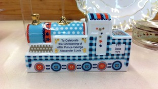 A limited edition christening steam train