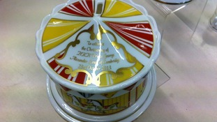 The carousel money box is priced at £145