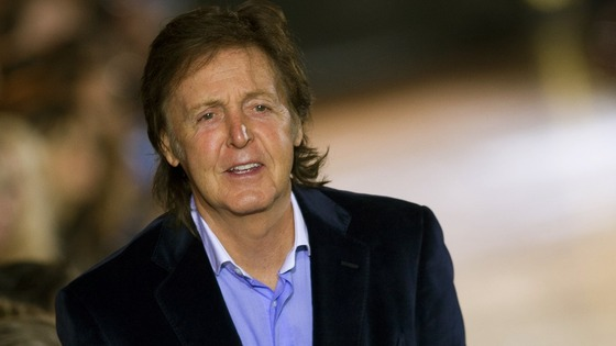 File photo of Sir Paul McCartney.