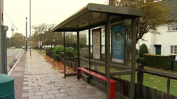 The bus stop where Stephen Lawrence was attacked in 1993