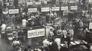 Billingsgate Fish Market, c1910