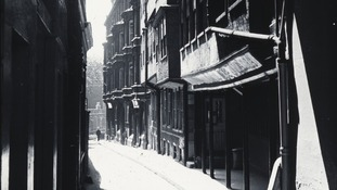 Middle Temple Lane, c1910