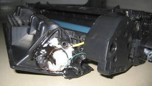 Printer bomb by designed by Ibrahim al-Asiri
