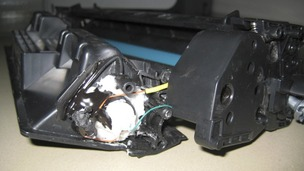 Printer bomb by designed by Ibrahim al-Asiri