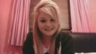 Lindsay Inger, aged 13, who died after being hit by a tram last November