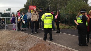 Campaigners worked to get the bridge built at the danger spot