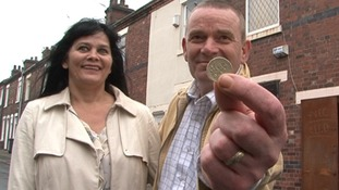 Teresa and Lawrence Poxton were among those who bagged their own home for just £1 under the first round of applications