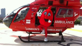 London's Air Ambulance make history carrying blood on-board for the first time