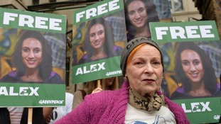 Dame Vivienne Westwood has backed the campaign for Alexandra Harris to be freed.
