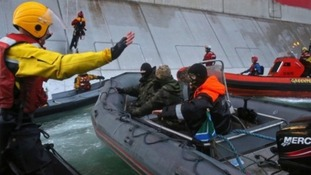 Greenpeace protesters were seized on the Arctic Sunrise ship in September.