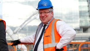 Transport Secretary Patrick McLoughlin has backed the controversial HS2 rail scheme.