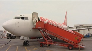 The Luton based airline EasyJet made losses of 112 million pounds