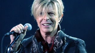 David Bowie before he took a break from the music industry.