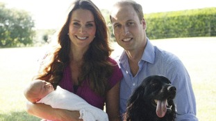 George's christening held in historic Chapel Royal