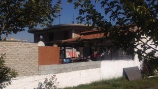 The house in the Roma community where the girl known as Maria used to live.