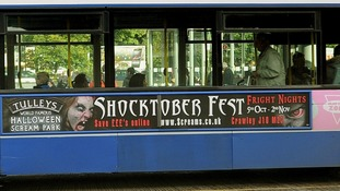 Tulleys Farm Shocktober Fest banner