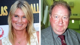 Sally Bercow and Lord McAlpine composite image.