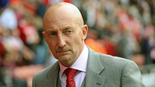 Crystal Palace manager Ian Holloway