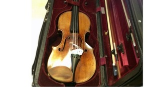 The recovered 1696 Antonio Stradivarius violin