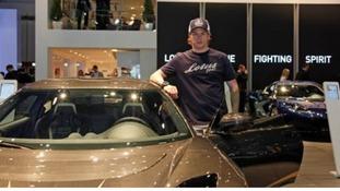 Former F1 champ Kimi Raikkonen