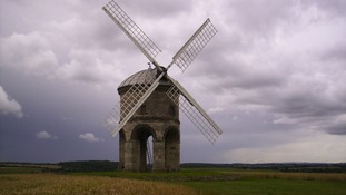 cloudy skies over Chesterton Windmill, Warwickshire.