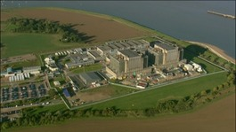 Bradwell atomic plant in Essex