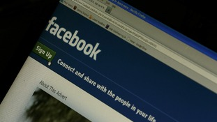 File photo of a general view of the Facebook home page on a laptop screen.