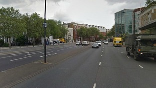 Google Street View image close to the scene of the attack
