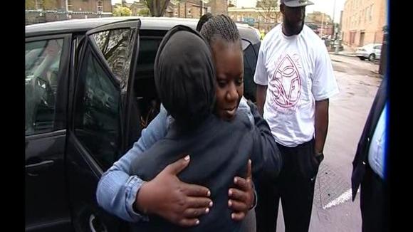 Doreen Lawrence meets Trayvon's mother, Sybrina Fulton