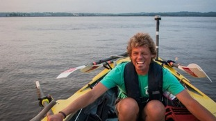Dr Mark de Rond began rowing in Peru on Friday 13th September.
