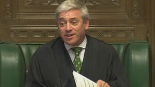 House of Commons Speaker John Bercow.