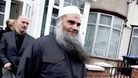 Radical cleric Abu Qatada outside his home in west London