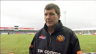 Rob Baxter at Sandy Park