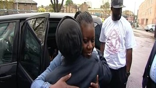 Mother of Trayvon Martin visits Stephen Lawrence memorial