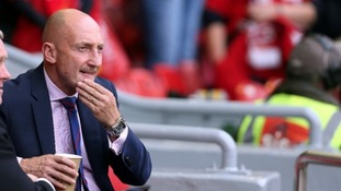 Holloway has stepped down as Crystal Palace manager