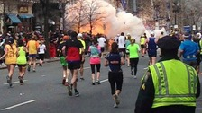 The Boston Marathon bombings