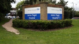 The CQC has put James Paget Hospital in band 4.