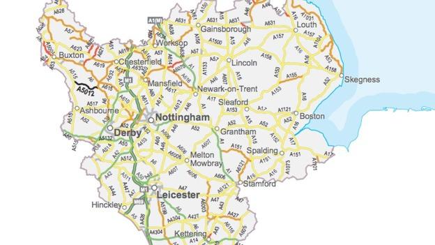 East Midlands has most dangerous roads  Central  ITV News