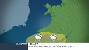 Heavy rain could cause surface flooding