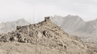 Canadian Army Observation Post 2, Ma'sum Ghar Forward Operating Base, Kandahar.