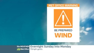 AMBER ALERT ISSUED FOR STRONG WINDS