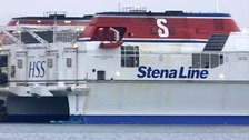 The woman and baby fell overboard from a StenaLine ferry